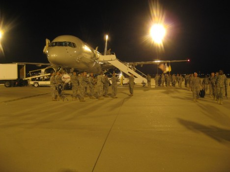 Arrival at Fort Bliss